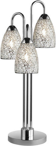 Woodbridge Lighting Venezia Indoor Lighting Table Lamp 13283CHR-M20CLR - PeazzLighting