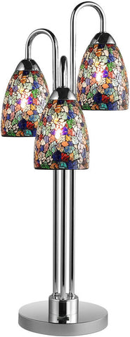 Woodbridge Lighting Venezia Indoor Lighting Table Lamp 13283CHR-M20MTC - PeazzLighting
