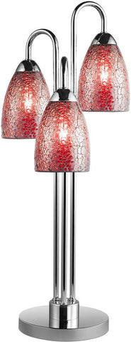 Woodbridge Lighting Venezia Indoor Lighting Table Lamp 13283CHR-M20RDD - PeazzLighting