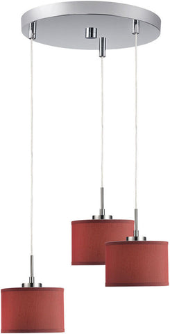 Woodbridge Lighting Cirque Indoor Lighting Mini Pendant Cluster 13324STN-S10803 - PeazzLighting