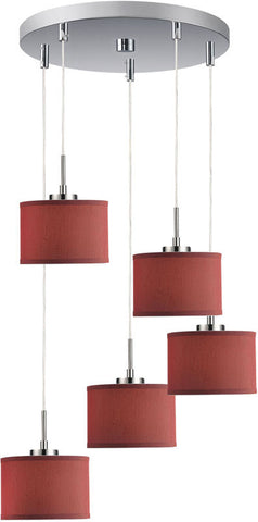 Woodbridge Lighting Cirque Indoor Lighting Mini Pendant Cluster 13325STN-S10803 - PeazzLighting