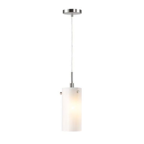 Woodbridge Lighting Eclipse Indoor Lighting Mini Pendant 13423STN-C10401 - PeazzLighting