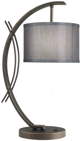 Woodbridge Lighting Eclipse Indoor Lighting Table Lamp 13481MEB-S10802 - PeazzLighting