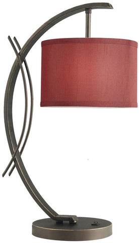 Woodbridge Lighting Eclipse Indoor Lighting Table Lamp 13481MEB-S10803 - PeazzLighting