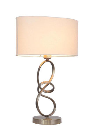 Woodbridge Lighting Journey 1-light Classic Brass Table Lamp - PeazzLighting