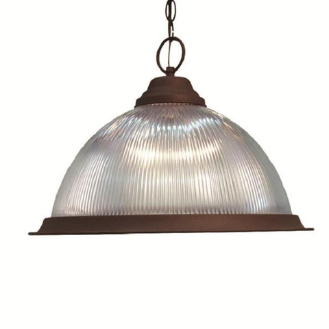 Woodbridge Lighting Basic 1-light Antique Bronze Pendant - Peazz.com