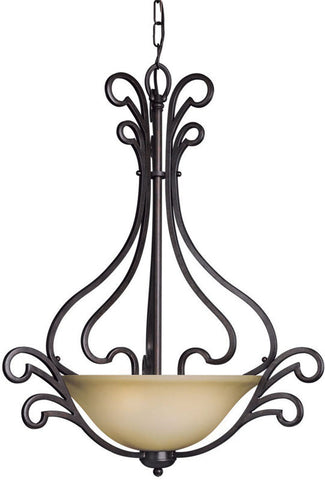Woodbridge Lighting Palermo Indoor Lighting Pendant & Foyer 22020-BOR - PeazzLighting