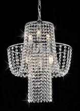 Warehouse of Tiffany RL6568 Charlotte Crystal-Chrome Chandelier - Peazz.com