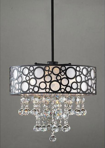 Warehouse of Tiffany RL7892 Adelaida Crystal Chandelier - Peazz.com