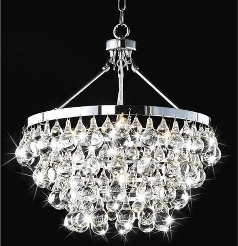 Warehouse of Tiffany RL9795 Eleanor Crystal Chandelier - Peazz.com