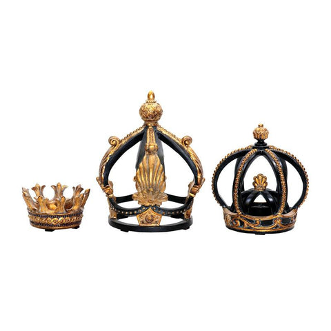 Sterling Industries 91-0013 Set/3 Crowns - Peazz.com