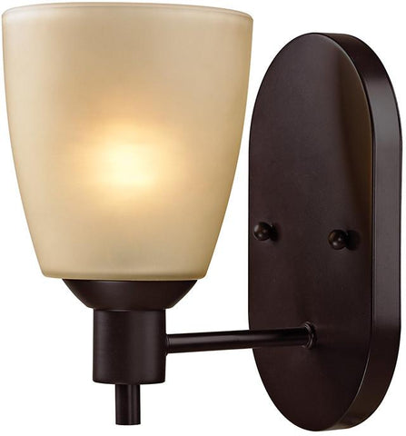 Cornerstone 1301WS/10 Jackson 1 Light Sconce In Oil Rubbed Bronze - Peazz.com