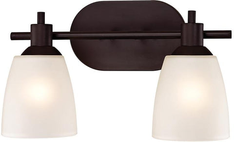 Cornerstone 1352BB/10 Jackson 2 Light Bath Bar In Oil Rubbed Bronze - Peazz.com