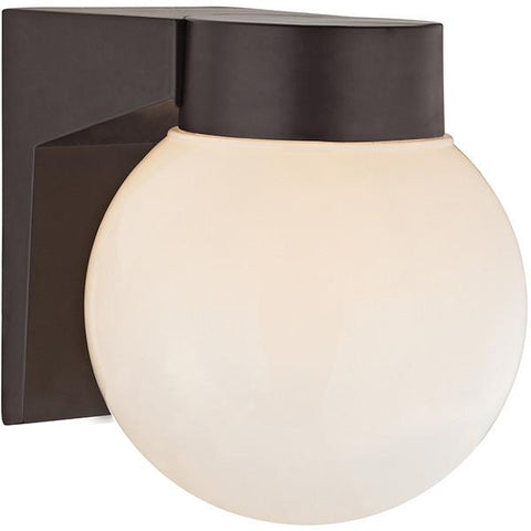 Cornerstone 9201EW/75 1 Light Outdoor Wall Sconce In Oil Rubbed Bronze - Peazz.com