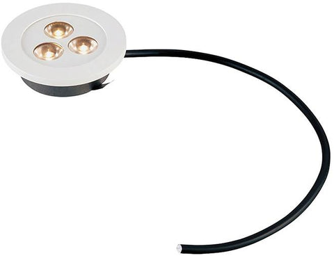 Cornerstone A730DL/40 Alpha Collection 3 Light Recessed LED Light In White - Peazz.com