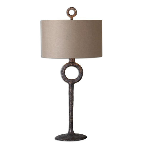Uttermost 27663 Ferro Cast Iron Table Lamp - UTMDirect