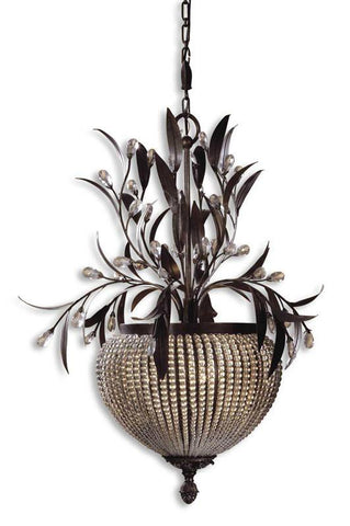 Uttermost 21004 Cristal De Lisbon 3-Light Chandelier - UTMDirect