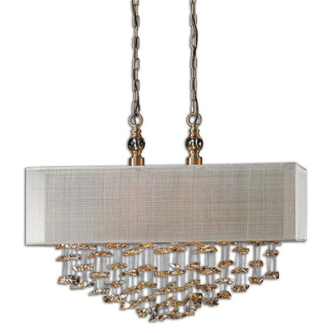 Uttermost 22033 Santina 2 Light Shade Pendant - UTMDirect