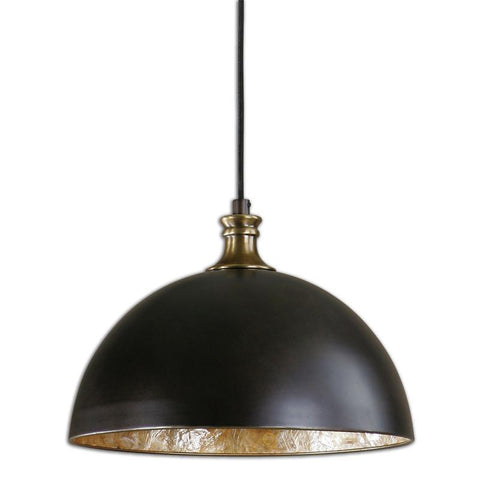 Uttermost 22028 Placuna 1 Light Bronze Pendant - UTMDirect