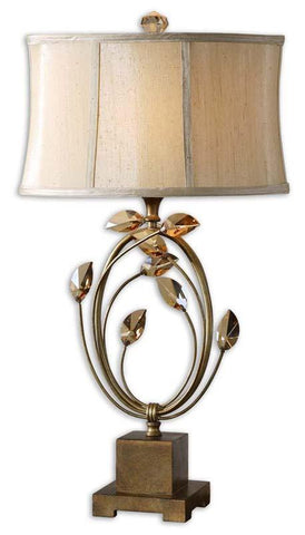 Uttermost 26337-1 Alenya Gold Table Lamp - UTMDirect