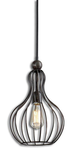Uttermost 21979 Bourret 1 Light Pendant - UTMDirect