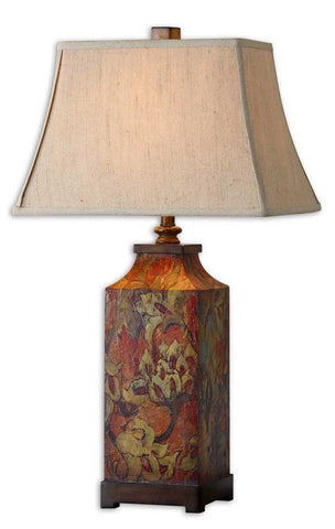 Uttermost 27678 Colorful Flowers Lamps - UTMDirect