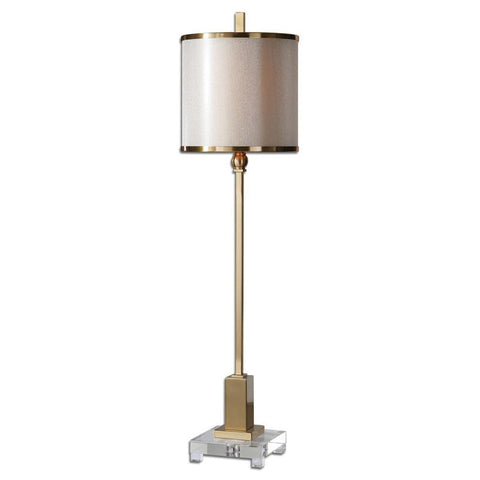 Uttermost 29940-1 Villena Brass Buffet Lamp - UTMDirect
