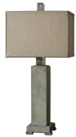 Uttermost 26543-1 Risto Concrete Table Lamp - UTMDirect