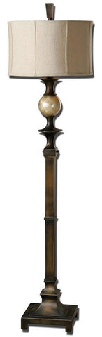 Uttermost 28241-1 Tusciano Dark Bronze Floor Lamp - UTMDirect