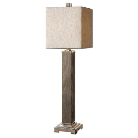 Uttermost 29576-1 Sandberg Wood Buffet Lamp - UTMDirect