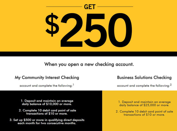 NYCB $250 checking bonus - New York Community Bank