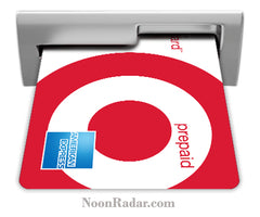 Prepaid REDcard Amex Chip-and-Pin security at Target & other stores