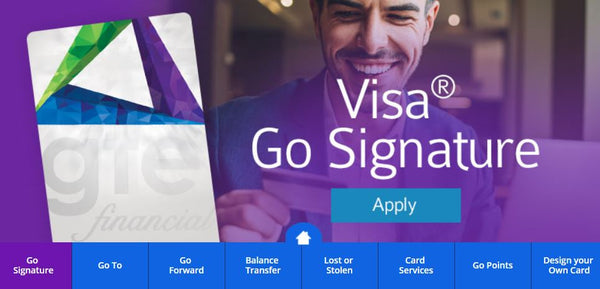 GTE Visa Signature  credit card - $300 sign up bonus offer