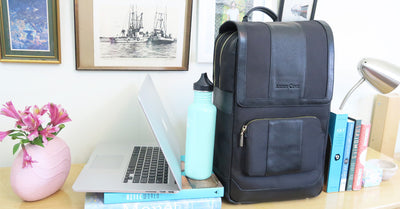 Arden Cove + Little Art Talks Daily Laptop Backpack Giveaway