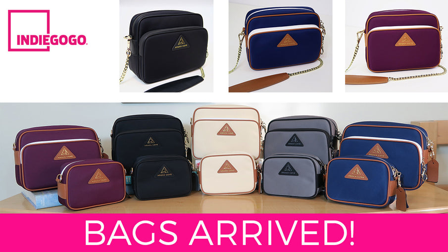 Bags Are Here! Close up & High Quality photos of Bags in Each Color