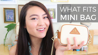 What's In My Bag? What fits in the Mini Anti-Theft Waterproof Crossbody