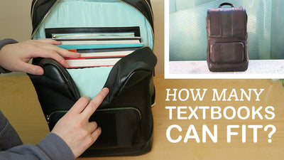How Many Textbooks Can Fit in the Daily Laptop Backpack?