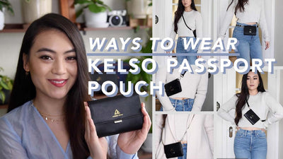 Make your Kelso Pouch Ultra Versatile by Adding Straps