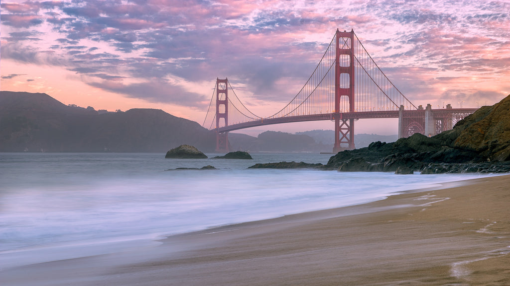 Best View of San Francisco Golden Gate Bridge Baker Beach Photo by Rodrigo Soares on Unsplash