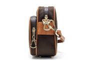 Full Crossbody with Faux Leather Strap