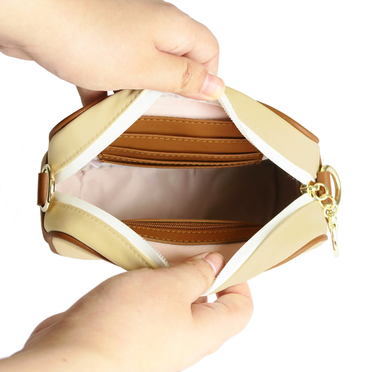 Mini Sized Cream Inner Pocket View