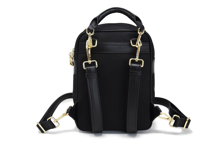 Slash Resistant Faux Leather Wide Strap