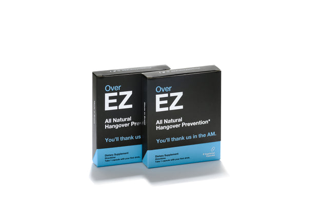 OverEZ: Hangover Prevention Pills - Over EZ