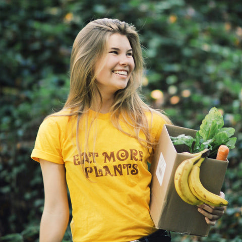 Eat More Plants unisex tee