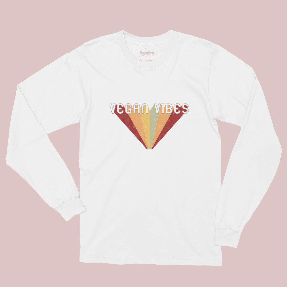 Psychedelic Vegan Vibes (long sleeve)