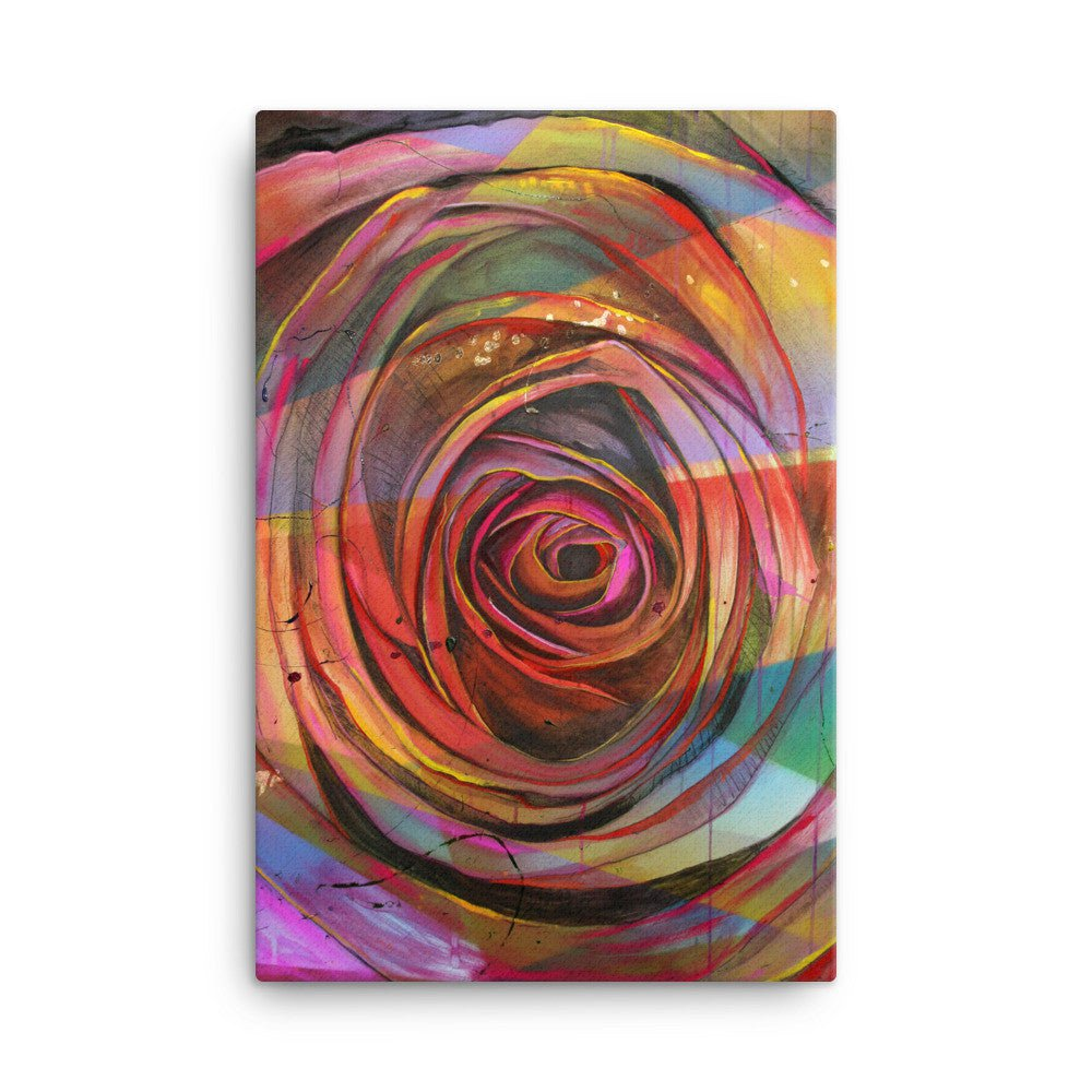Smell the Roses Canvas