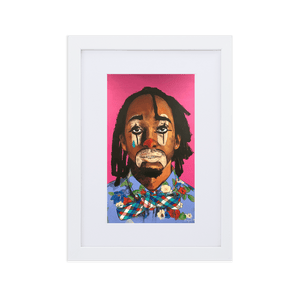 Open image in slideshow, Your Clown Framed Art With Mat