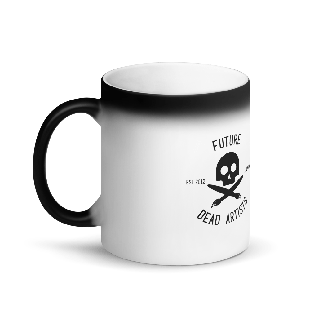 FDA Matte Black Magic Mug