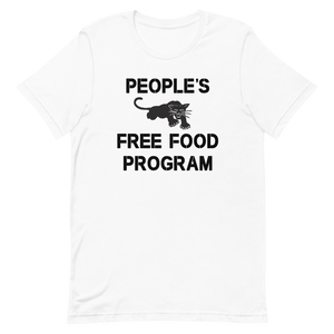 Open image in slideshow, Peoples Free Food Program Short Sleeve Unisex T-Shirt