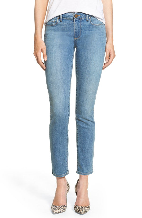 NEW PAIGE ANKLE PEG SKINNY JEANS SKYLINE QUILL WASH SIZE 27